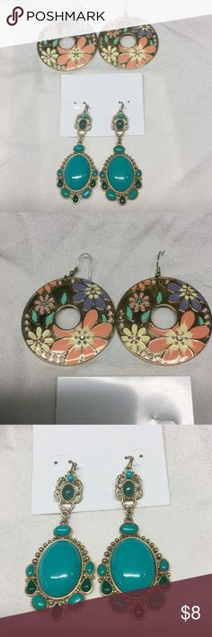 2 pair of earrings charming Charlie Includes both pair ..excellent condition Charming Charlie Jewelry