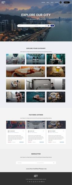 Listopia is clean and modern design responsive #WordPress theme for social networking, #community and #directory listing website to live preview & download click on Visit