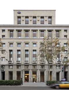 View the full picture gallery of Mandarin Oriental, Barcelona New Classical Architecture, Hotel Architecture, Classic Architecture, Sustainable Architecture, Architecture Details, Landscape Architecture, Mandarin Oriental, Barcelona Pictures, Barcelona Hotels