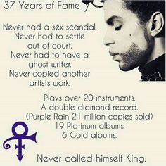 37 years of fame but he was musically talented even before then
