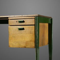 wright20: Jean Prouvé Dactylo desk, model BD 41