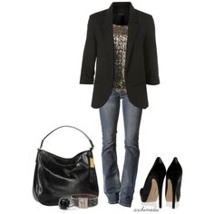 """""""Girl's Night Out"""" by archimedes16 on Polyvore"""