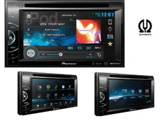 multimedia DVD receiver features a beautiful WVGA touchscreen display, Pioneer's own MIXTRAXTM technology, and Advanced App Mode for iPhone® and iPhone 4 Cool Car Gadgets, Electronic Deals, Car Amplifier, Car Tools, Gps Navigation, Car Audio, Iphone 4s, Car Accessories, Multimedia