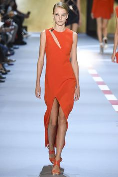 Mugler Spring 2016 Ready-to-Wear Fashion Show - Roos Abels (Ford)
