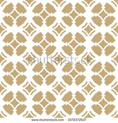 Golden vector ornamental seamless pattern in Arabian style. Elegant gold and white texture with carved grid, lattice, floral figures, repeat geometric tiles. Moroccan style background. Abstract design