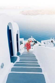 Santorini, Greece | Santorini's whitewashed architecture with colorful notes gives every stroll through the city a magical feel. Cruise with Royal Caribbean to Santorini and visit black-sand beaches, volcanic cliffs, and charming buildings, and learn more about the lost city of Atlantis.