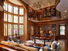 Home library room house plans ideas Home Design, Home Library Design, Home Office Design, Diy Design, Design Ideas, Library Ideas, Library Bar, Cozy Library, Library Images