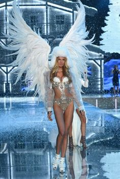 b813d34991165 Romee Strijd Photos - Model and new Victoria s Secret Angel Romee Strijd  from The Netherlands walks the runway during the 2015 Victoria s Secret  Fashion ...