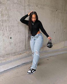 Black Girl Fashion, Tomboy Fashion, Streetwear Fashion, Fashion Outfits, Baddie Outfits Casual, Cute Casual Outfits, Stylish Outfits, Swag Outfits For Girls, Teenage Girl Outfits