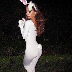 i wanna be a snow bunny for halloween