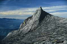 Mount Kinabalu. Now this is where I am from.