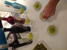 Cata de aceites Castillo de Canena, el zumo de la aceituna se hizo arte!