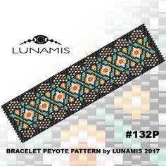 bracelet design / pdf format / pattern only. Create this beautiful peyote cuff bracelet. Miyuki Delica Beads size 11/0 Odd count with 5 bead colors. 31 bead columns by 93 bead rows. Width: 1.6 (4,2 cm) Length: 6.4 (16,3 cm) Patterns include: - Large colored numbered graph paper (and non-numbered in another files) - Bead legend (numbers and names of delica beads colors ) - Word chart - Pattern preview This pattern is intended for users that have experience with odd count pey...