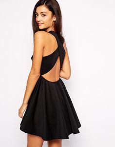 Jovonna+Peekaboo+Cross+Back+Dress