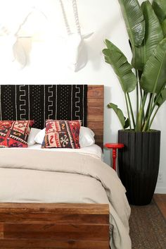bedroom inspiration pattern fabric headboards african bedroomafrican designafrican stylehouse