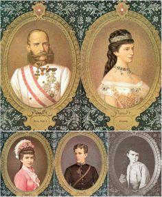 Het keizerlijk gezin.