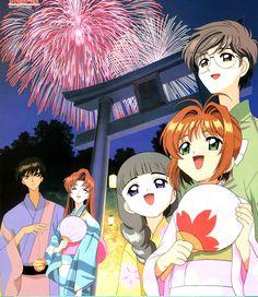 Cardcaptor Sakura   CLAMP   Madhouse / Kinomoto Sakura, Daidouji Tomoyo, Tsukishiro Yukito, Kinomoto Touya, and Mizuki Kaho