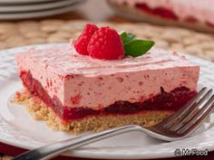 Rasberry Icebox Cake