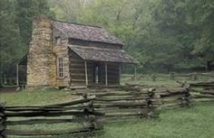 "The traditional ""American"" log cabin, long used as an icon of the national frontier and the rugged individual spirit of those that dwelt there was actually imported from lands where such buildings had been popularly used for centuries.  It was introduced by the Scandanavian colonizers of New Sweden, which we now know as Delaware."