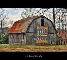75/365 - Quilted Barn