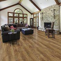 Select Surfaces Click Laminate Flooring - Cocoa Walnut - 17.23 sq ...