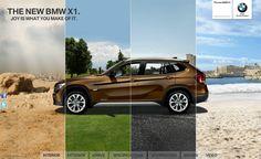 BMW X1 MICROSITE / Art Direction, Web Design