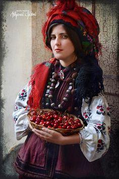 Полісся, народний костюм. - Woodlands, folk costume