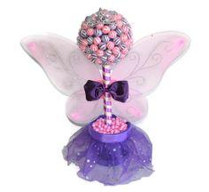 #fairyprincess #lollipopprincess #lollipopcenterpiece #candycenterpiece #lollipoptopiary #candytopiary #etsy #handmade #edibleweddings #birthday #centerpiece #fairy #candy #lollipops #edible #pink #purple #birthdaygirl #babyshower #itsagirl #customizable Lollipop Fairy Princess Topiary Pink and Purple by EdibleWeddings, $44.99