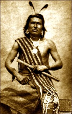 ✯ Native American Pawnee Warrior :: Photographed 1867✯