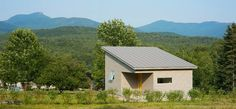 TINY HOUSE TOWN: Green Mountain Micro Home-A 430 sq ft micro home, designed by Elizabeth Herrmann Architct   Design.