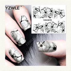 0.10$  Watch now - http://alirzt.shopchina.info/go.php?t=32662833368 - YZWLE  1 Sheet DIY Designer Water Transfer Nails Art Sticker / Nail Water Decals / Nail Stickers Accessories (YZW-8078) 0.10$ #aliexpresschina