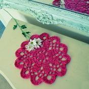 doily Mandala or T yarn Rug crochet - via @Craftsy