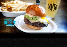 Slater's 50/50 San Diego, CA - Gourmet Burgers and Sports Bar
