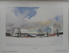 LITHOGRAPH of Katimavik by Artist Brian M by BYGONERA on Etsy