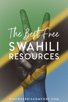 The best free dictionary, courses, textbooks and audio we've found for learning Swahili - from people actually learning it (and who speak it). Speak Language, Learn A New Language, Kenya Travel, Africa Travel, Zanzibar Africa, World Languages, Take Care Of Your Body, Learning Resources, Textbook