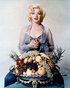 Interesting photo of Marilyn