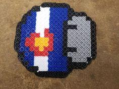 Colorado Flag Perler #colorado #denver #mushroom #Mario