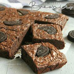 Oreo Coffee Brownies By Irmadesmayanti Resep Erlina Lim Bahan 2 Butir Telor 150 Gr Gula Pasir Butiran Halus 1 2 Sdt Vanili Bubuk 1 Resep Kue Gula Kue