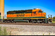 RailPictures.Net Photo: BNSF 1977 BNSF Railway EMD SD40-2 at Saginaw, Texas by Sid Vaught