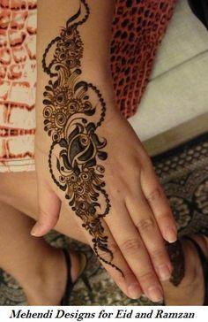 15 Best Mehendi Designs for Eid and Ramzan
