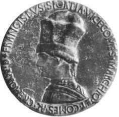 Pisanello, Medaglia di Francesco Sforza