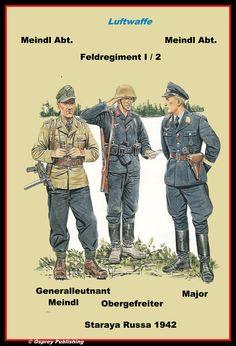 Feld & Meidl Division - Russland - 1942