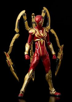 Complete your Marvel collection with this Iron Spider figure! The Re:Edit Iron Spider features the character with an upgraded suit designed by Tony Stark. Marvel Comics, Marvel Vs, Marvel Heroes, Marvel Characters, Disney Marvel, Star Wars Poster, Star Wars Art, Star Trek, Marvel Girls