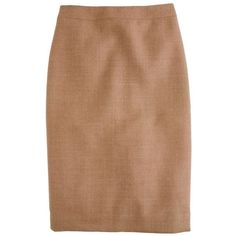 No. 2 pencil skirt in double-serge wool ❤ liked on Polyvore