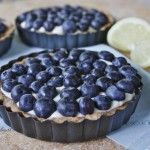 blueberry-lemon cream cheese tart