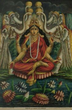Kamala tantric goddess Mahalaxmi Hindu goddess