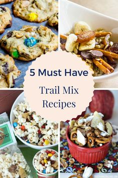 5 Must Have Trail Mix Recipes Easy Meals For Two, Easy Family Meals, Kids Meals, Family Recipes, Trail Mix Recipes, Snack Recipes, Easy Recipes, Slow Cooker Recipes, Crockpot Recipes