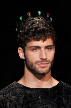 FASHION WEEK SPECIAL thom morell at dolce & gabbana