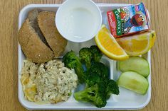 Organic Lunch at Green Charter School