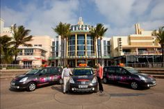 Suncoast rebrands the Mozzie Cabs fleet - Ebony and Ivory Grafix Tourism, Coastal, Ivory, Street View, City, Turismo, Cities, Travel, Traveling